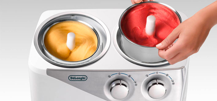 Preparare gelati in casa con la gelatiera